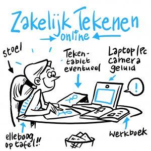 Online Workshop Zakelijk Tekenen