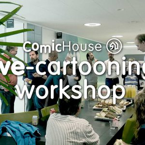 Live-Cartooning Workshop